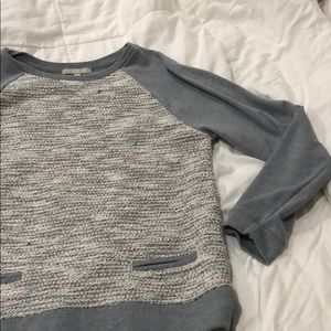 Banana Republic gray sweater. Large.